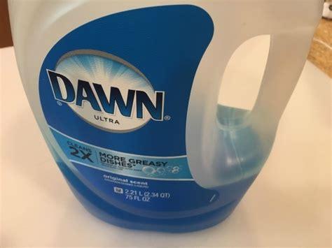 dawn detergent  unclog  drain thriftyfun
