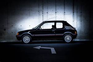 Peugeot 205 gti cars coupe french black wallpaper ...