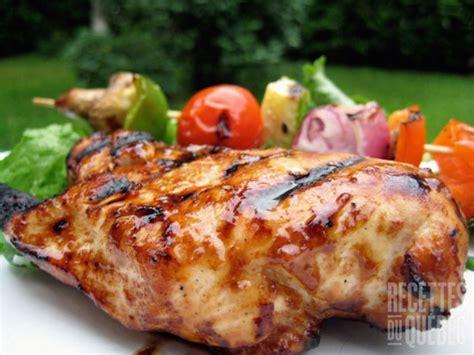 recette recette poitrines de poulet balsamiques