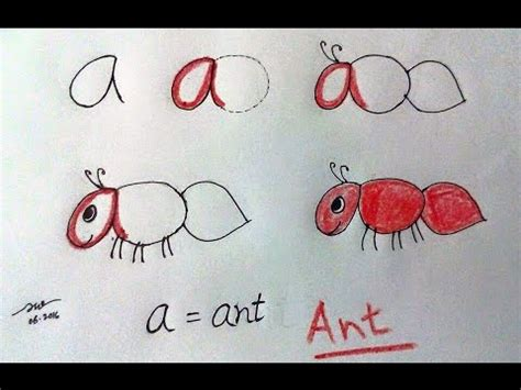 learn  alphabet    draw animals  letters