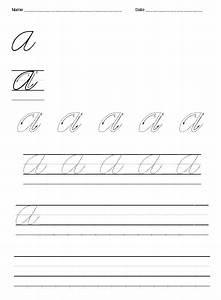 Russian Cursive Alphabet Practice Sheets - cursive ...