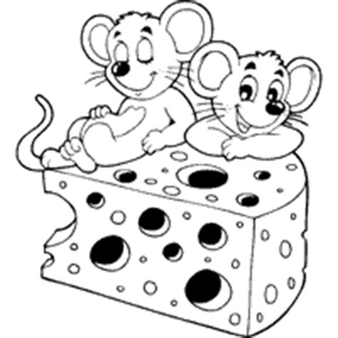 cheesy mice coloring pages surfnetkids