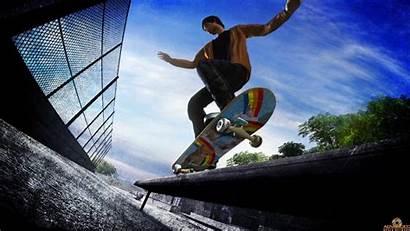 Skate Wallpapers Skateboard Skateboarding Board Fisheye