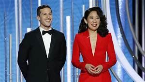 Andy Samberg and Sandra Oh Monologue Highlights Golden ...
