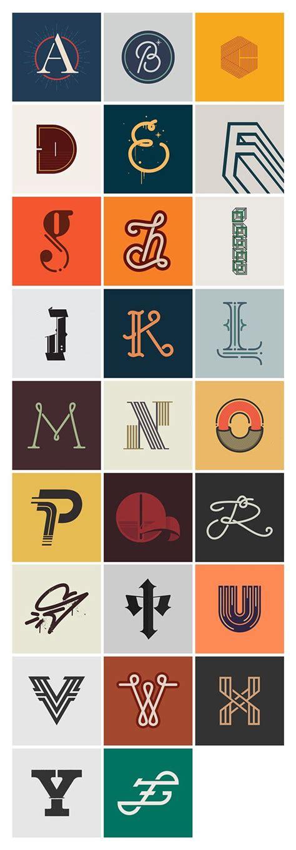 daysoftype  letters harf sanat