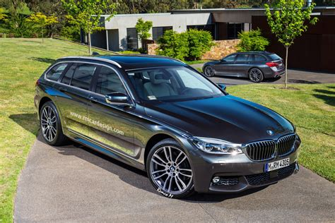 2017 Bmw 5 Series (g31) Touring Rendering Looks Very