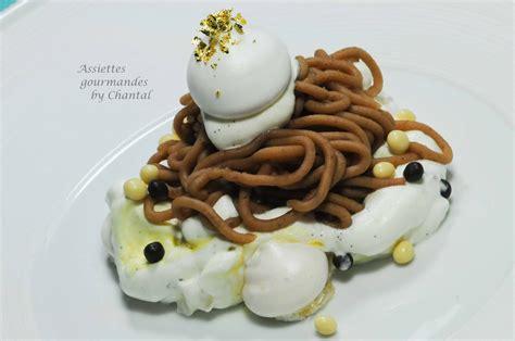 dessert quot mont blanc quot ou torche aux marrons un dessert sp 233 cial pour les gourmands