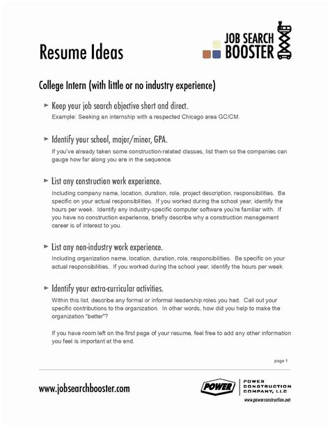 What Are Objectives For A Resume by 65 Unique Collection Of Resume Objective Exles For It