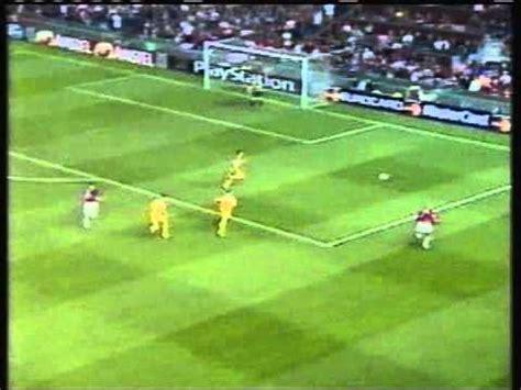 2000 September 13 Manchester United England 5 Anderlecht ...