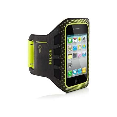 iphone arm band iphone 4 4s belkin easefit armband black limelight