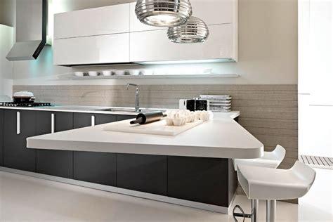 Super Small Kitchen Ideas - cocina moderna con barra americana imágenes y fotos