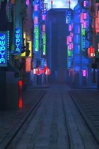 Wallpaper Blade Runner 2049, future city, street, night