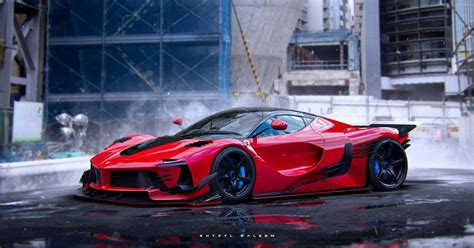 ferrari laferrari fxxk   twist stancenation