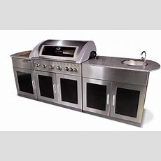 The Entertrainer 6 Burner Outdoor Kitchen  Home Design
