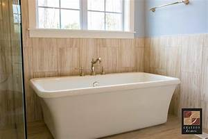 This, Simple, Yet, Unique, Bathtub, Adds, A, Modern, Charm, To, Any