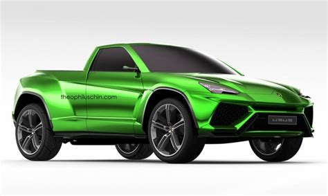 Lamborghini Urus Pickup Truck Is a Modern LM002: Rendering ...
