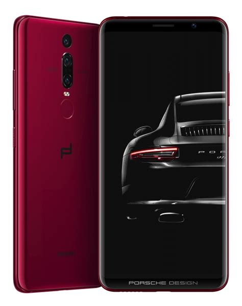 huawei p20 porsche design porsche design huawei mate rs with cameras dual fingerprint sensor 512 gb storage is