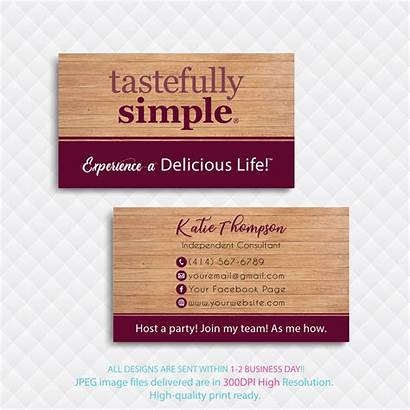 Cards Card Business Simple Custom Personalized Tastefully