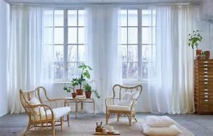 Fensterdeko Für Große Fenster : gardinen ein ratgeber mit sch nen ideen sch ner wohnen ~ Michelbontemps.com Haus und Dekorationen