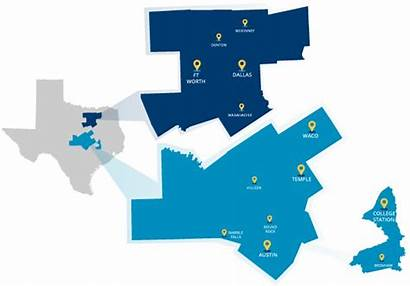 Map Temple Career Bswhealth Med Texas Dallas