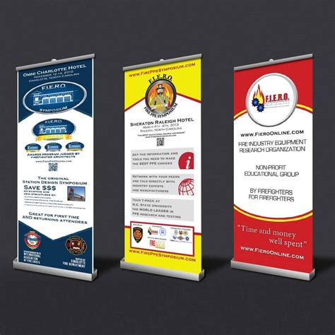 retractable banner template custom roll up banners retractable banner signs