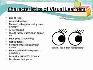 47 Visual Learning Style Essay, Learning Style Reflection ...