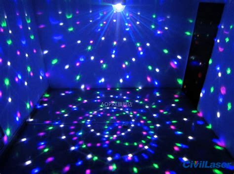 Cheap Led Lighting Disco Crystal Ball Small Projector For