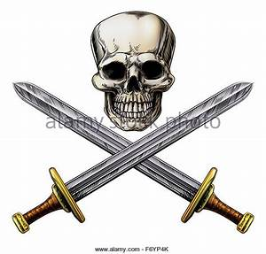 Crossed Swords Cut Out Stock Images & Pictures - Alamy