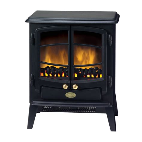 Tango 2kW Portable Electric Fire with Optiflame coal effect