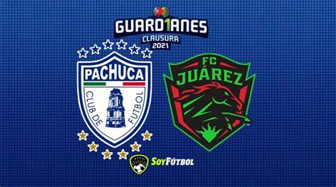 Club Pachuca vs FC Juárez: Horario y dónde ver el partido ...