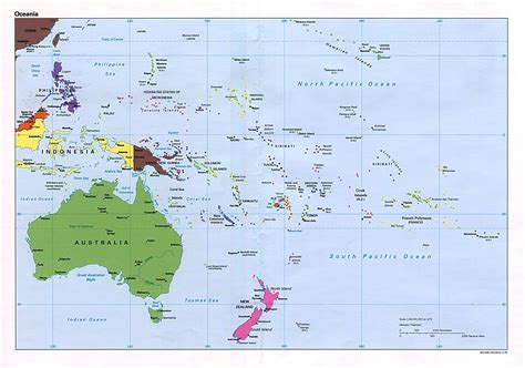 australia   pacific maps perry castaneda map