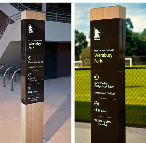signs by design city of whitehorse signage strategy studio binocular