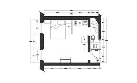 plan d une chambre d hotel rénovation d un petit espace comme une chambre d hôtel