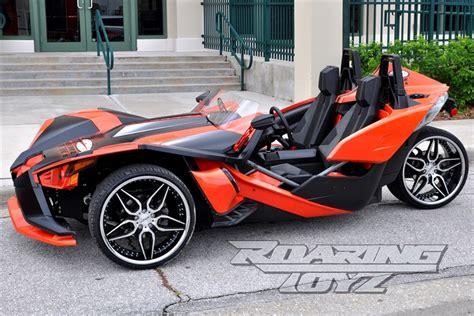 custom wheels  polaris slingshot   front