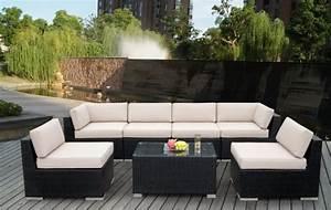 Lounge Sofa Outdoor : great price close to home for pickup noosha new outdoor pe rattan wicker sofa lounge set from ~ Frokenaadalensverden.com Haus und Dekorationen