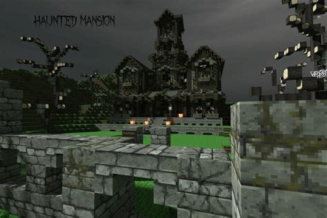 haunted mansion happy halloween creative mode