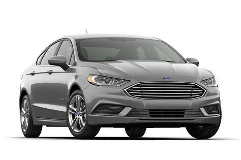 2018 Ford® Fusion Hybrid Se Sedan  Model Highlights