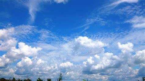 Cloudy Sky Background Hd File Mendung Di Langit Biru 50 Jpg