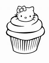 Blueberry Muffin Drawing Coloring Cupcake Getdrawings sketch template