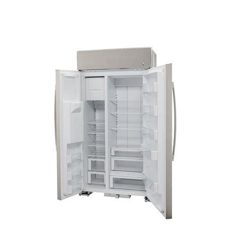 profile psbysnss ge profile series  smart built  side  side refrigerator
