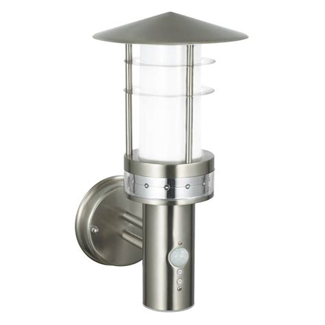 endon pagoda pir outdoor automatic led wall light 13924