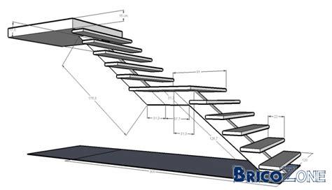 escalier droit avec palier inspiration du blog