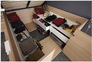 Lit Bed Up : parisot 39 space up 39 bed lifts up for spacious storage ~ Preciouscoupons.com Idées de Décoration