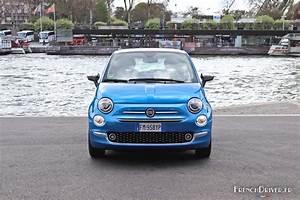 Fiat 500 Longueur : essai nouvelle fiat 500 mirror dans l 39 air du temps french driver ~ Medecine-chirurgie-esthetiques.com Avis de Voitures