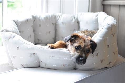 Woof Dog Bed   Small and Medium   The Blue Door