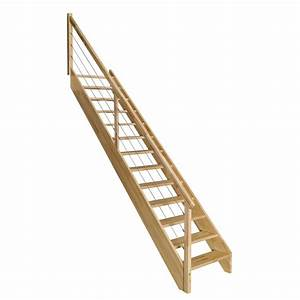 marche escalier bois leroy merlin lsmydesigncom With amazing escalier exterieur leroy merlin 4 escalier modulaire strong structure metal marche bois