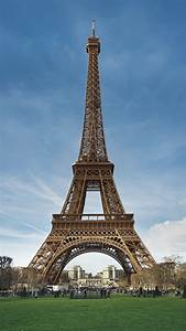 Eiffel Tower Paris France Blue Sky Android Wallpaper free ...