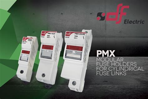 pmx industrial modular fuse holders df electric