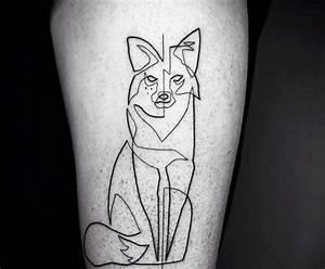 Tatouage Loup Graphique : tatouage loup et t te de loup mod les et signification ~ Mglfilm.com Idées de Décoration
