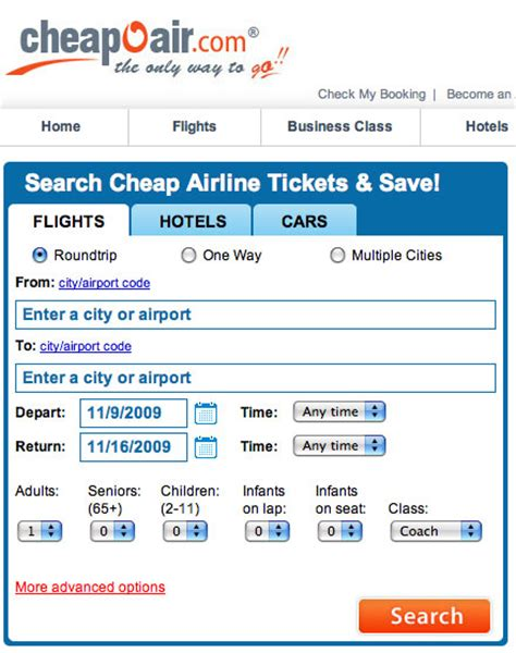 cheapoair phone number www airline tickets cheap flight info